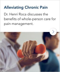 Alleviating Chronic Pain